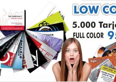 imprension de tarjetas low cost tenerife sur islas canarias imprenta tizon