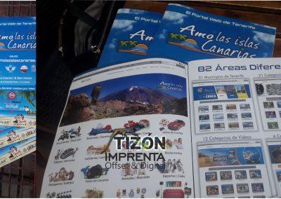 imprenta tizon revistas revista tenerife sur norte