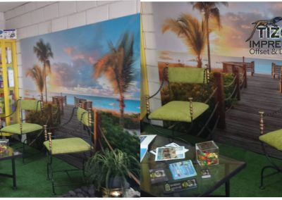 impresion de murales vinilos en pared imprenta tizon tenerife