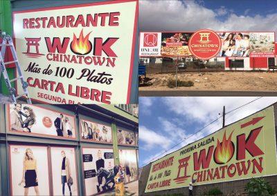 impresion de vinilos en Tenerife sur las Chafiras