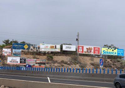 alquiler de vallas en Tenerife su