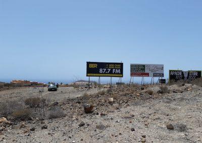 alquiler de vallas en los Cristianos Tenerife sur
