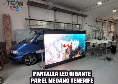 PANTALLA LED GIGANTE ALQUILER Y VENTA TENERIFE